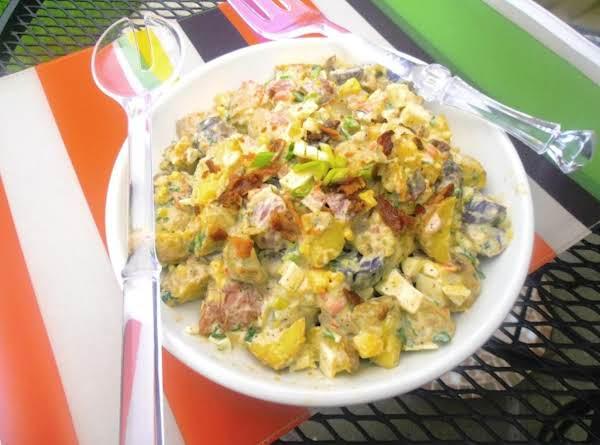Egg & Bacon Medley Potato Salad Recipe