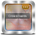 Crow Billiards GO SMS icon