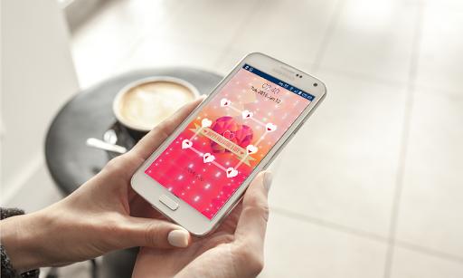 Valentine Pattern Lock Screen