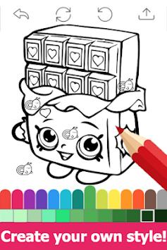 Unduh Gambar Halaman Mewarnai Untuk Shopkins Oleh Fans Apk Versi