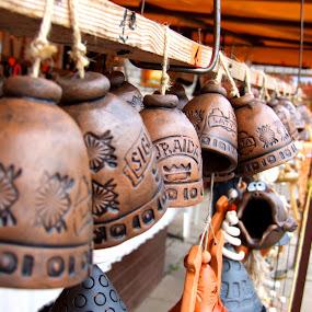 by Oleg Verjovkin - Artistic Objects Musical Instruments ( bells, latvia, turaida, sigulda )