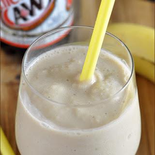 Skinny Root Beer Banana Smoothie