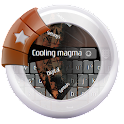 Cooling magma GO Keyboard icon