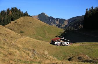 """Photo: 03 """"in memoriam"""" an die schöne alte Karalm, Graf'n Chor Alm, unterhalb der Karspitze, die leider abgebrochen wurde ...."""
