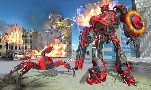US Police Transform Iron Robot Spider Hero 1.0.3 screenshots 1