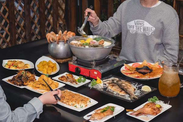 高雄左營 四兩千金活蝦之家-超大佔地活蝦餐廳,極肥美泰國蝦吃到怕