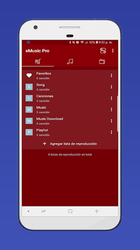 Music Player; eMusic PRO mp3 player v1.1.1 [Paid]