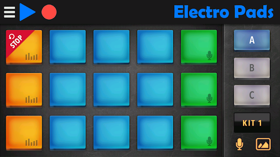 Electro Pads- screenshot thumbnail