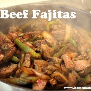Finally - A Good Recipe for Beef Fajitas!!