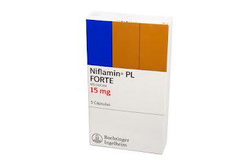 Meloxicam Niflamin Pl Forte 15Mg Cápsulas Caja  x5Cáp Boehringer