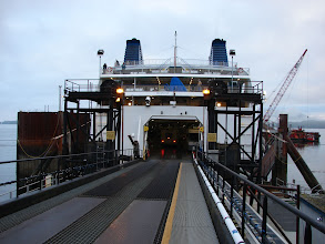 Photo: August 3 - The BC Ferry at dock in Prince Rupert.