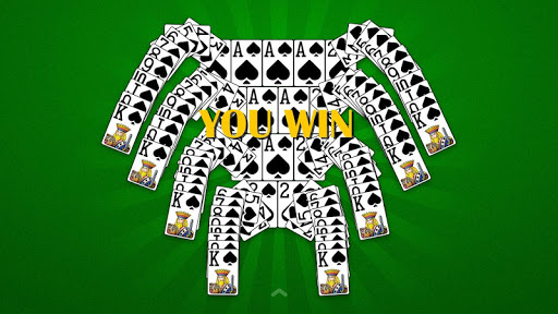 Spider Solitaire  gameplay | by HackJr.Pw 11