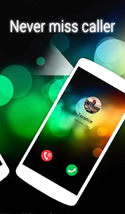 Call Flash & Unique Colorful Call Theme- screenshot thumbnail