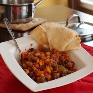 Smoked Paprika Sweet Potato Chili