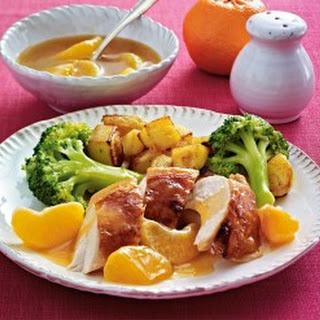 Hähnchenbrust mit Mandarinensoße