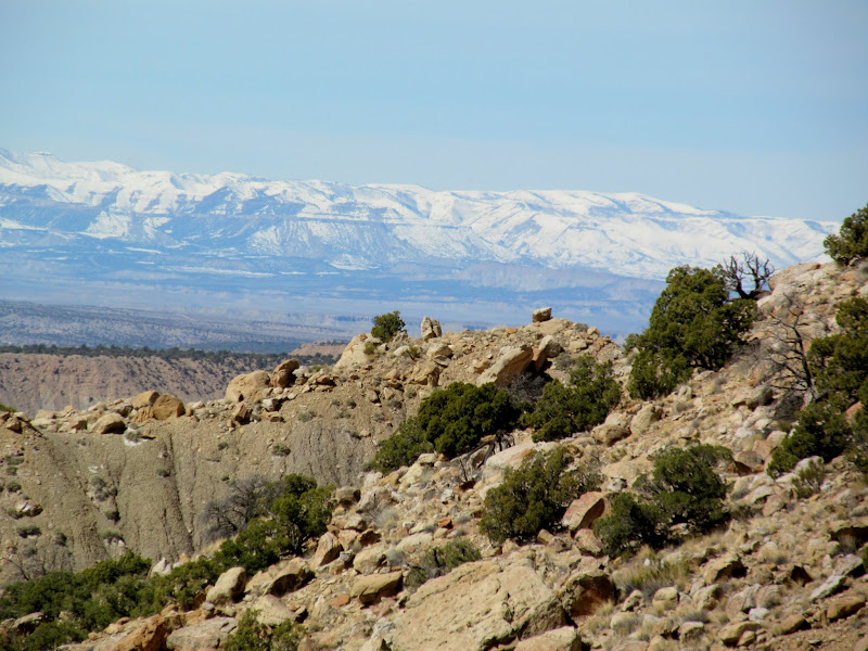 Photo: Wasatch Plateau covered in snow