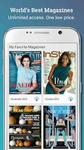 Texture – Digital Magazines Screenshot 1