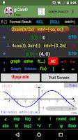Screenshot of Graphing  Calculator