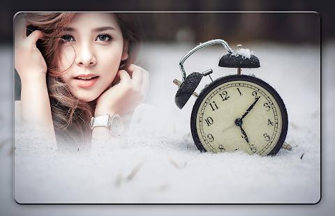 Clock Photo Frames - náhled