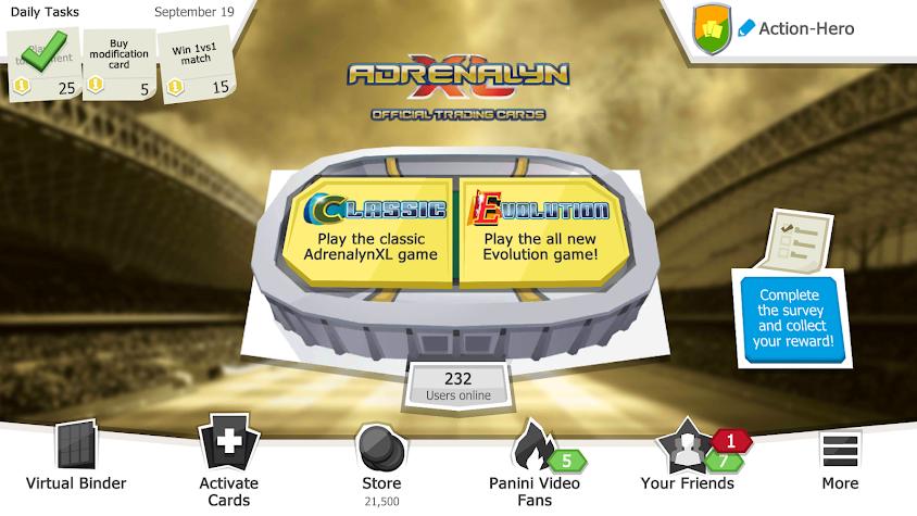 Panini FIFA 365 AdrenalynXL™ Screenshot