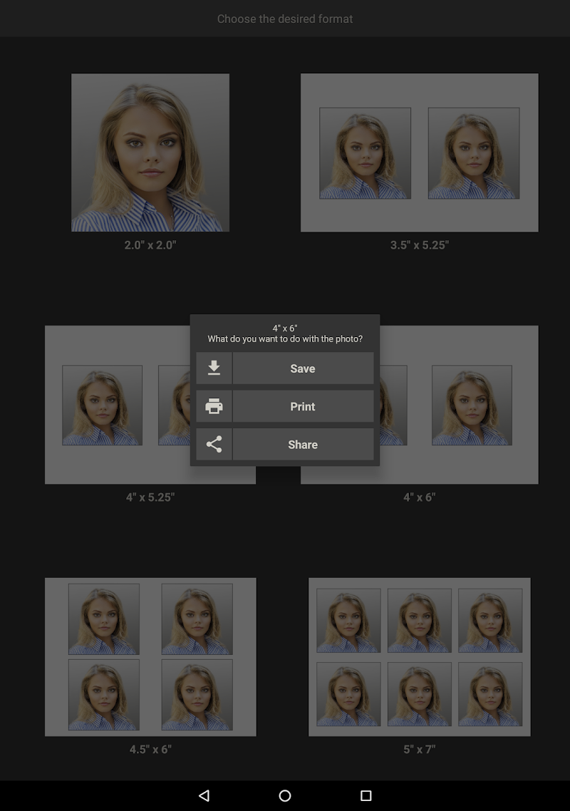 Biometric Passport Photo Screenshot 7