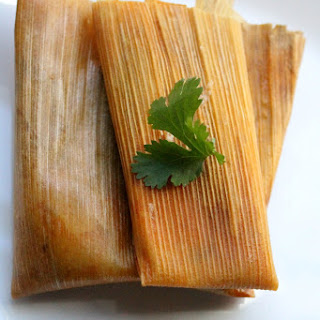 Rajas con Queso, or Jalapeño and Cheese Tamales