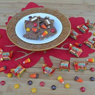 Fall Candy Toffee Bark.