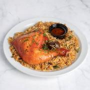 Chicken Mandi Plate