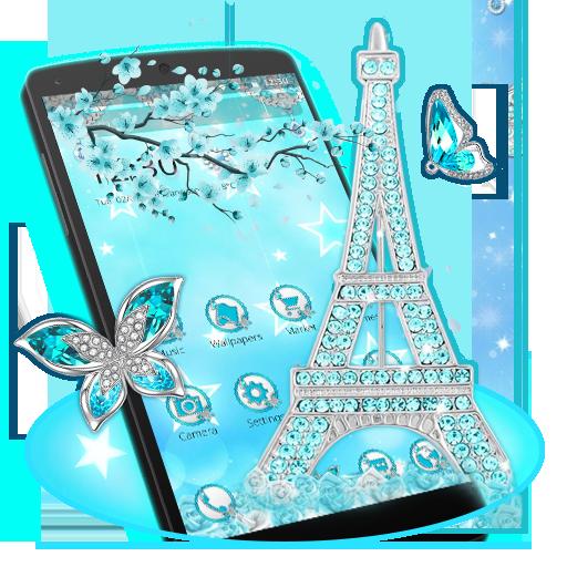 Blue Diamond Paris Theme
