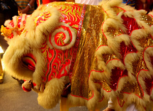 Photo: Year 2 Day 107 -   Dancing Lion