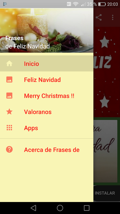 Frases De Feliz Navidad Android приложения Appagg