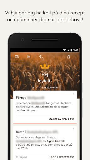 Kronans Apotek – Mina recept screenshot for Android