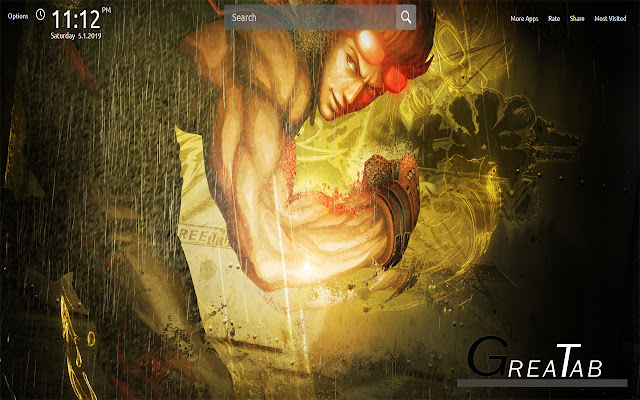 Street Fighter X Wallpapers Theme |GreaTab