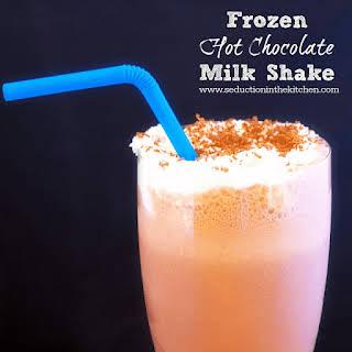 Frozen Hot Chocolate Milkshake.