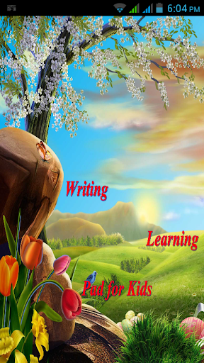 Writing Learning Pad for Kids