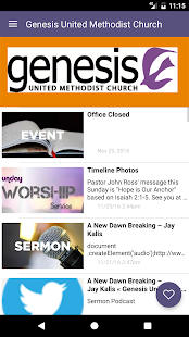 Genesis United Methodist- screenshot thumbnail