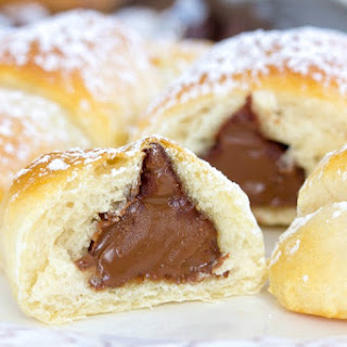 HERSHEY'S KISSES Milk Chocolate Crescents Recipe