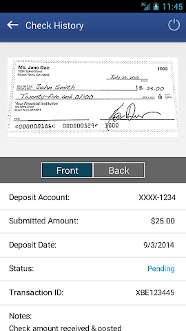 android Dort Federal Mobile Banking Screenshot 4
