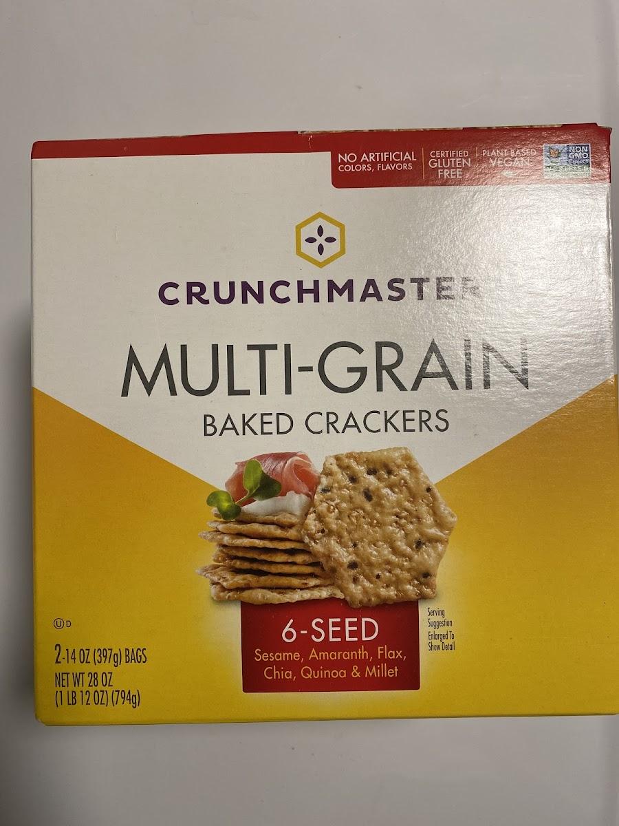 Multi-Grain Baked Crackers
