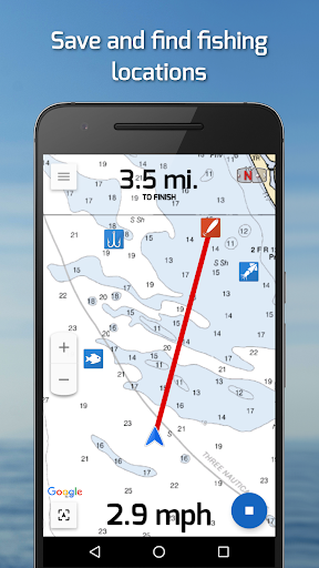 Fishing Points: GPS & Forecast v2.5.5 [Premium]
