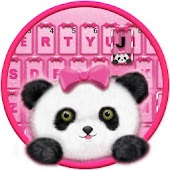 Lovely Panda Keyboard Theme