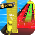 Color Surfers - Tower Stack color race 3D icon