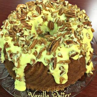 Vanilla Butter & Pecan Bundt Cake