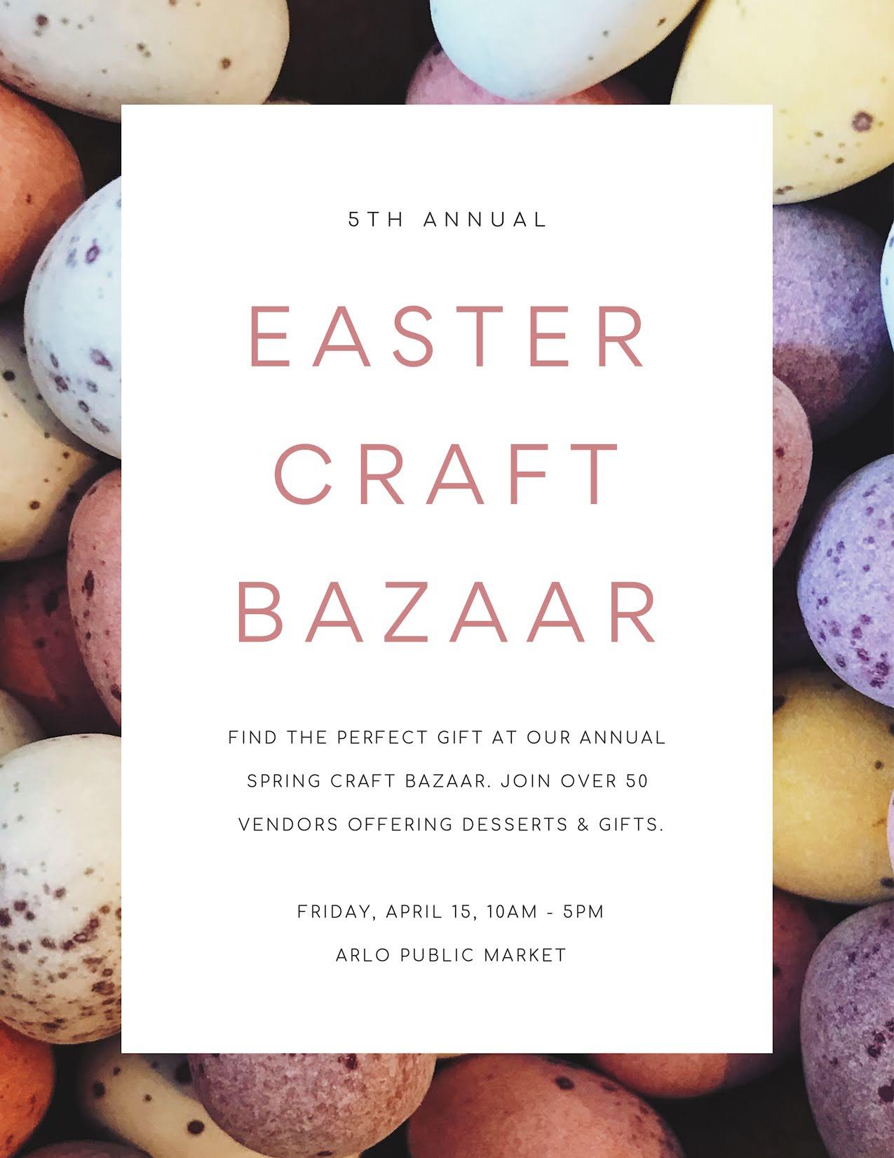 Easter Craft Bazaar - Easter Template