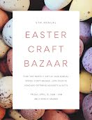 Easter Craft Bazaar - Poster item