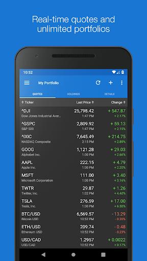 My Stocks Portfolio & Widget  screenshots 1