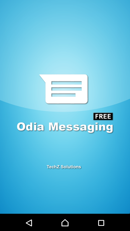 Odia Messaging- screenshot