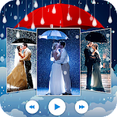 Rainy Photo Video Movie Maker