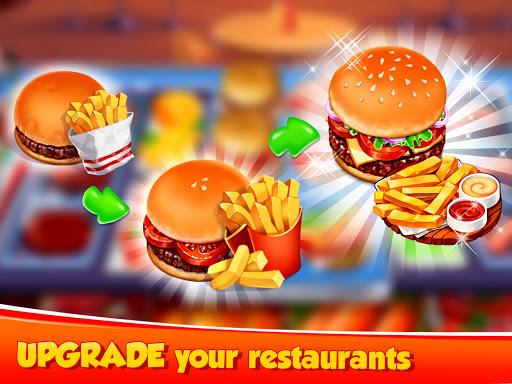 Hellu2019s Cooking: crazy burger, kitchen fever tycoon apkdebit screenshots 5