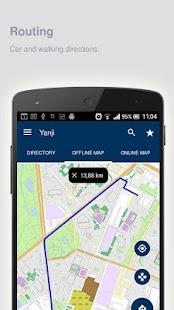Yanji Map offline - náhled